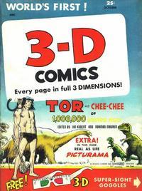 Cover Thumbnail for 3-D Comics (St. John, 1953 series) #2 [a]