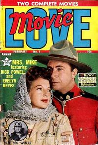 Cover Thumbnail for Movie Love (Eastern Color, 1950 series) #1