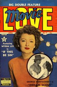 Cover Thumbnail for Movie Love (Eastern Color, 1950 series) #2