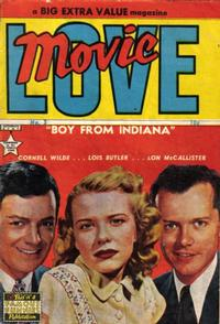 Cover Thumbnail for Movie Love (Eastern Color, 1950 series) #3