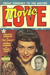 Cover Thumbnail for Movie Love (Eastern Color, 1950 series) #4