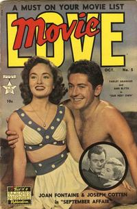 Cover Thumbnail for Movie Love (Eastern Color, 1950 series) #5