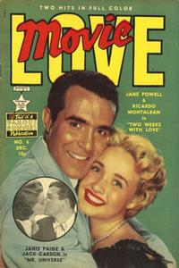 Cover Thumbnail for Movie Love (Eastern Color, 1950 series) #6