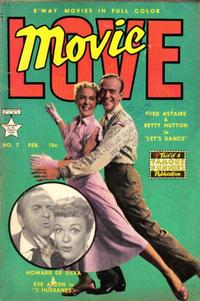 Cover Thumbnail for Movie Love (Eastern Color, 1950 series) #7