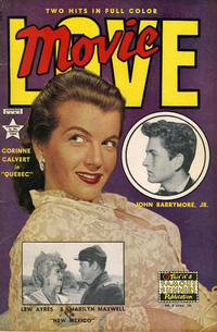 Cover Thumbnail for Movie Love (Eastern Color, 1950 series) #8