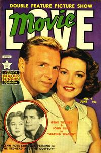 Cover Thumbnail for Movie Love (Eastern Color, 1950 series) #9