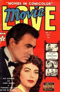 Cover Thumbnail for Movie Love (Eastern Color, 1950 series) #11