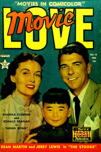 Cover Thumbnail for Movie Love (Eastern Color, 1950 series) #13
