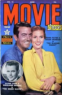 Cover Thumbnail for Movie Love (Eastern Color, 1950 series) #15