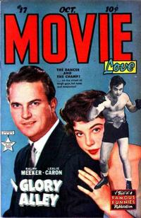 Cover Thumbnail for Movie Love (Eastern Color, 1950 series) #17