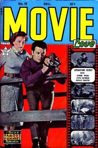 Cover Thumbnail for Movie Love (Eastern Color, 1950 series) #18
