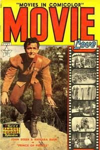 Cover Thumbnail for Movie Love (Eastern Color, 1950 series) #19