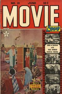 Cover Thumbnail for Movie Love (Eastern Color, 1950 series) #21
