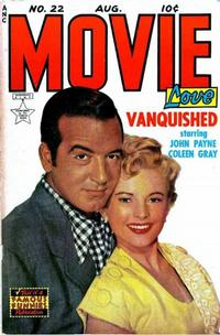 Cover Thumbnail for Movie Love (Eastern Color, 1950 series) #22