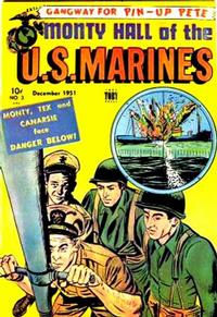 Cover Thumbnail for Monty Hall of the U.S. Marines (Toby, 1951 series) #3