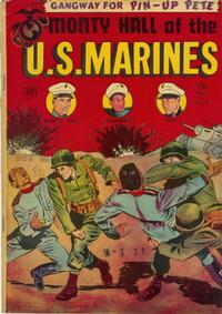 Cover Thumbnail for Monty Hall of the U.S. Marines (Toby, 1951 series) #4
