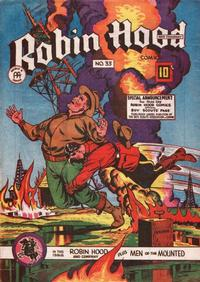 Cover Thumbnail for Robin Hood and Company Comics (Anglo-American Publishing Company Limited, 1946 series) #33