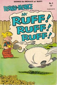 Cover Thumbnail for Dennis the Menace and Ruff (Hallden; Fawcett, 1969 series) #2