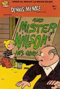 Cover Thumbnail for Dennis the Menace and Mister Wilson (Hallden; Fawcett, 1969 series) #1