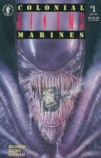 Cover Thumbnail for Aliens: Colonial Marines (Dark Horse, 1993 series) #1