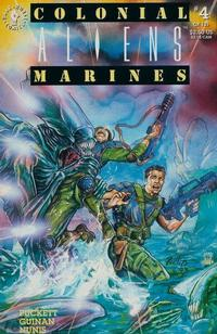 Cover Thumbnail for Aliens: Colonial Marines (Dark Horse, 1993 series) #4