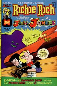 Cover Thumbnail for Richie Rich & Jackie Jokers (Harvey, 1973 series) #10