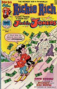 Cover Thumbnail for Richie Rich & Jackie Jokers (Harvey, 1973 series) #13