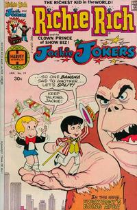 Cover Thumbnail for Richie Rich & Jackie Jokers (Harvey, 1973 series) #19