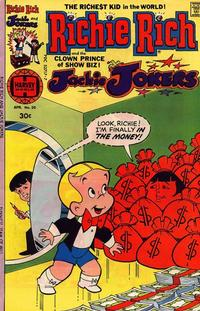 Cover Thumbnail for Richie Rich & Jackie Jokers (Harvey, 1973 series) #20