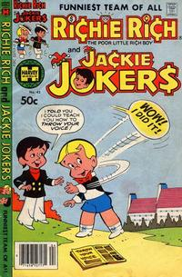 Cover Thumbnail for Richie Rich & Jackie Jokers (Harvey, 1973 series) #42