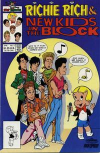 Cover Thumbnail for Richie Rich and The New Kids on the Block (Harvey, 1991 series) #2