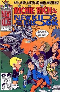 Cover Thumbnail for Richie Rich and The New Kids on the Block (Harvey, 1991 series) #3