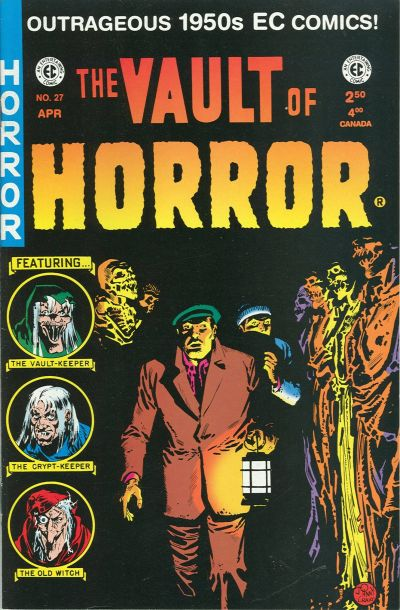 Cover for Vault of Horror (Gemstone, 1994 series) #27