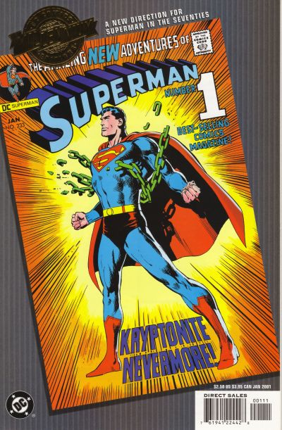 Cover for Millennium Edition: Superman 233 (DC, 2001 series)  [Direct Sales]