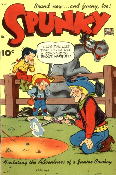 Cover for Spunky (Pines, 1949 series) #1