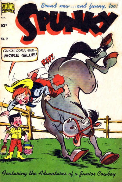 Cover for Spunky (Pines, 1949 series) #2