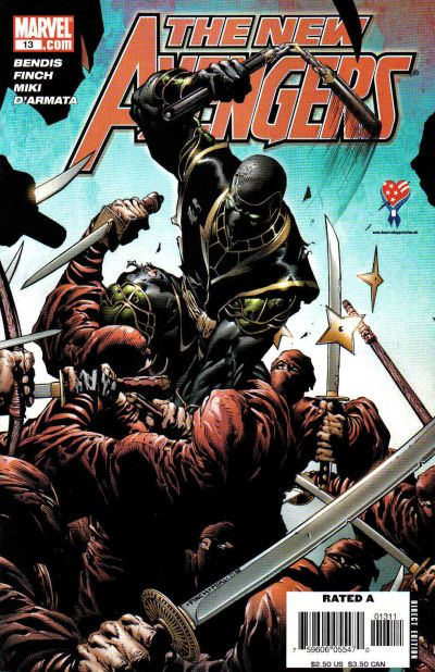 Cover for New Avengers (Marvel, 2005 series) #13 [Direct Edition]