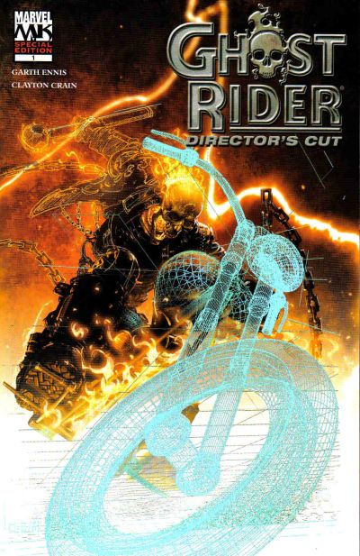 Cover for Ghost Rider Director's Cut (Marvel, 2005 series) #1