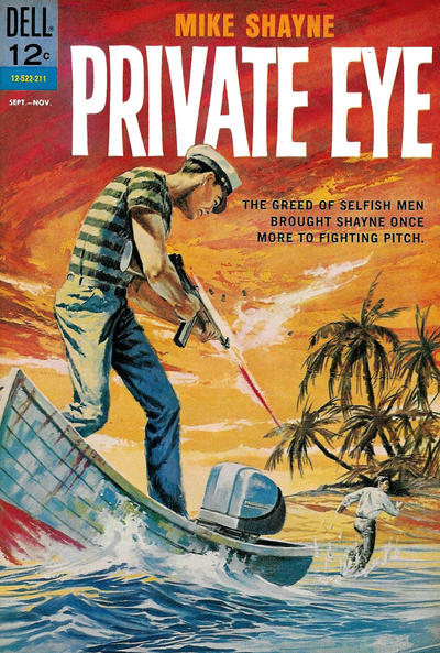 Cover for Mike Shayne Private Eye (Dell, 1962 series) #3