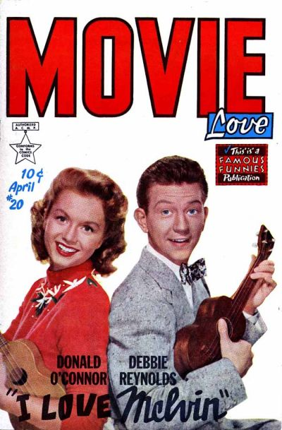 Cover for Movie Love (Eastern Color, 1950 series) #20