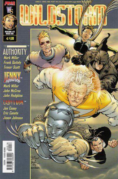 Cover for Wildstorm (Magic Press, 2000 series) #18