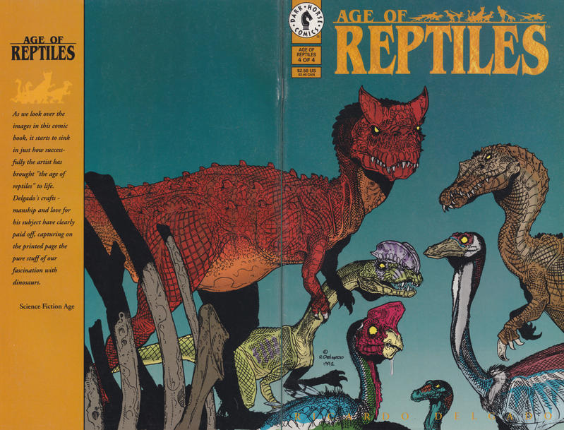 Cover for Age of Reptiles (Dark Horse, 1993 series) #4