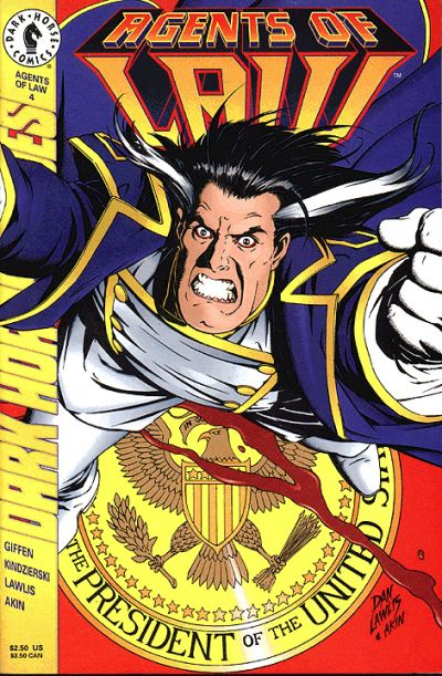 Cover for Agents of Law (Dark Horse, 1995 series) #4