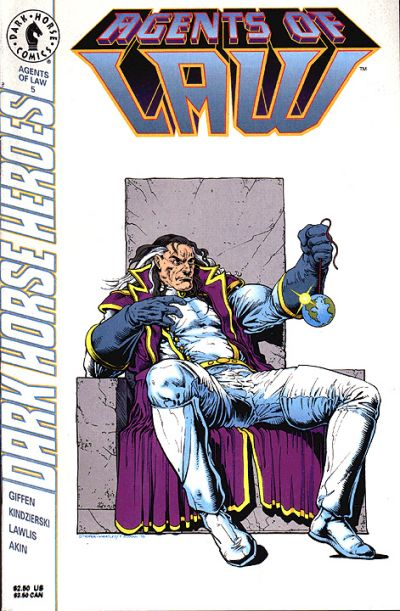 Cover for Agents of Law (Dark Horse, 1995 series) #5