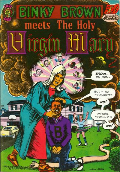 Cover for Binky Brown Meets the Holy Virgin Mary (Last Gasp, 1972 series) #[nn]
