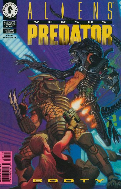 Cover for Aliens vs Predator: Booty (Dark Horse, 1996 series) #1