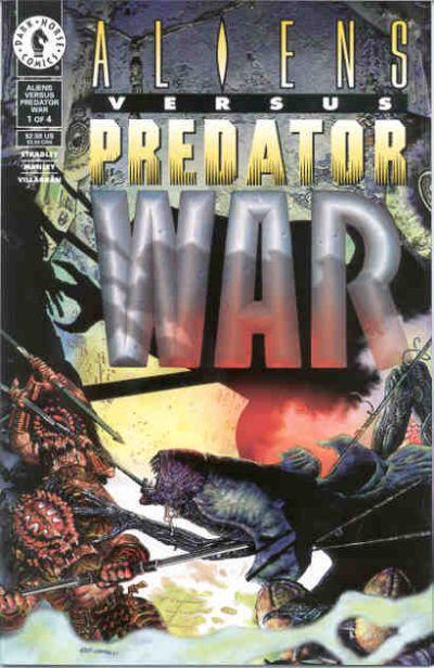 Cover for Aliens vs Predator: War (Dark Horse, 1995 series) #1