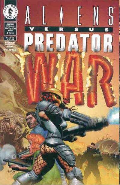Cover for Aliens vs Predator: War (Dark Horse, 1995 series) #4