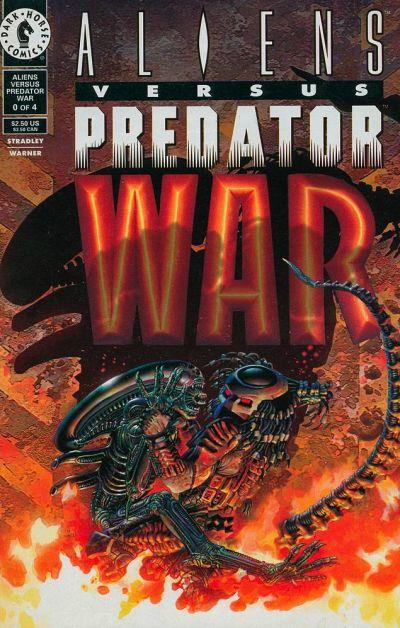 Cover for Aliens vs Predator: War (Dark Horse, 1995 series) #0