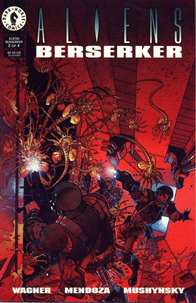 Cover for Aliens: Berserker (Dark Horse, 1995 series) #2
